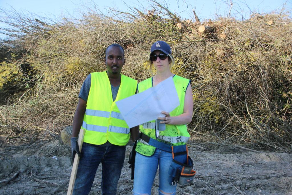 Ahmed, volontaire kenyan de 22 ans