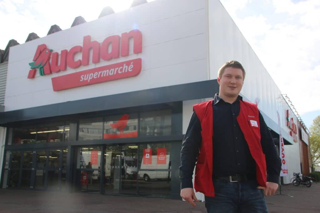 """Alexis Carpentier, directeur d'Auchan : """"nous adaptons nos services aux besoins"""""""
