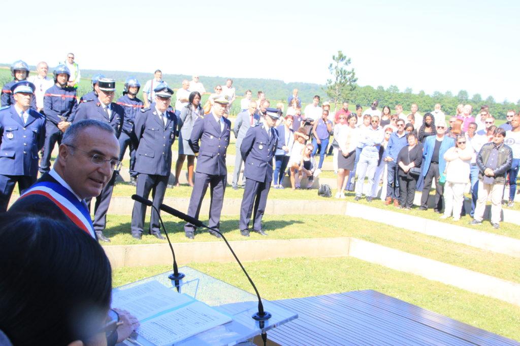 On a également célébré le 73e anniversaire de la fin de la guerre