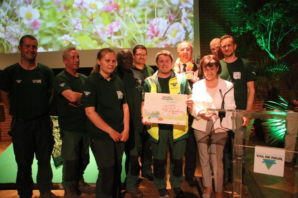 Le service des espaces verts à l'honneur