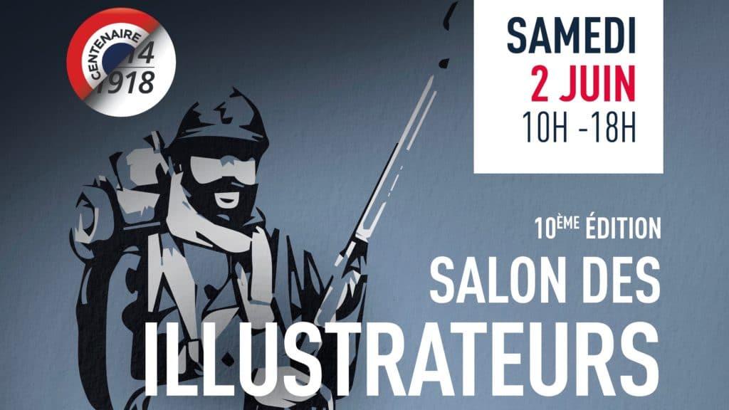 Ce week-end le salon des illustrateurs à l'heure du centenaire
