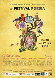 affiche Festival Poésia #2
