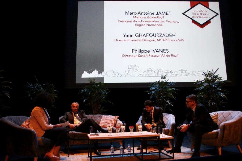 Marc-Antoine Jamet présentait mardi les besoins en habitat à combler en habitat