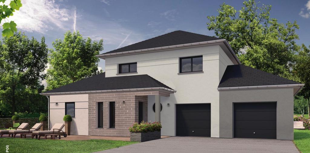 Des maisons entre 118 m2 et 180 m2