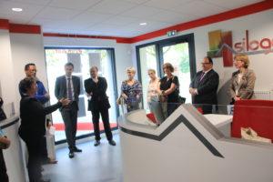 Inauguration de l'agence Siloge en présence de nombreuses personnalités