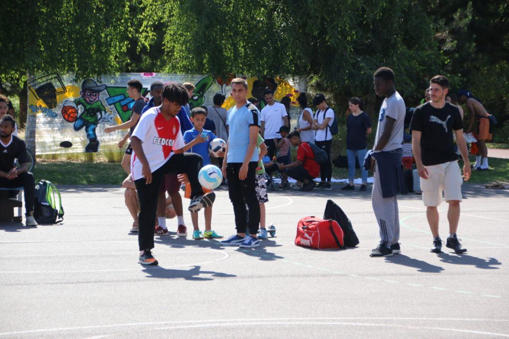 La culture urbaine s'invite au jardin sportif