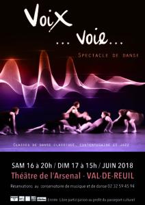 spectacle danse 2018