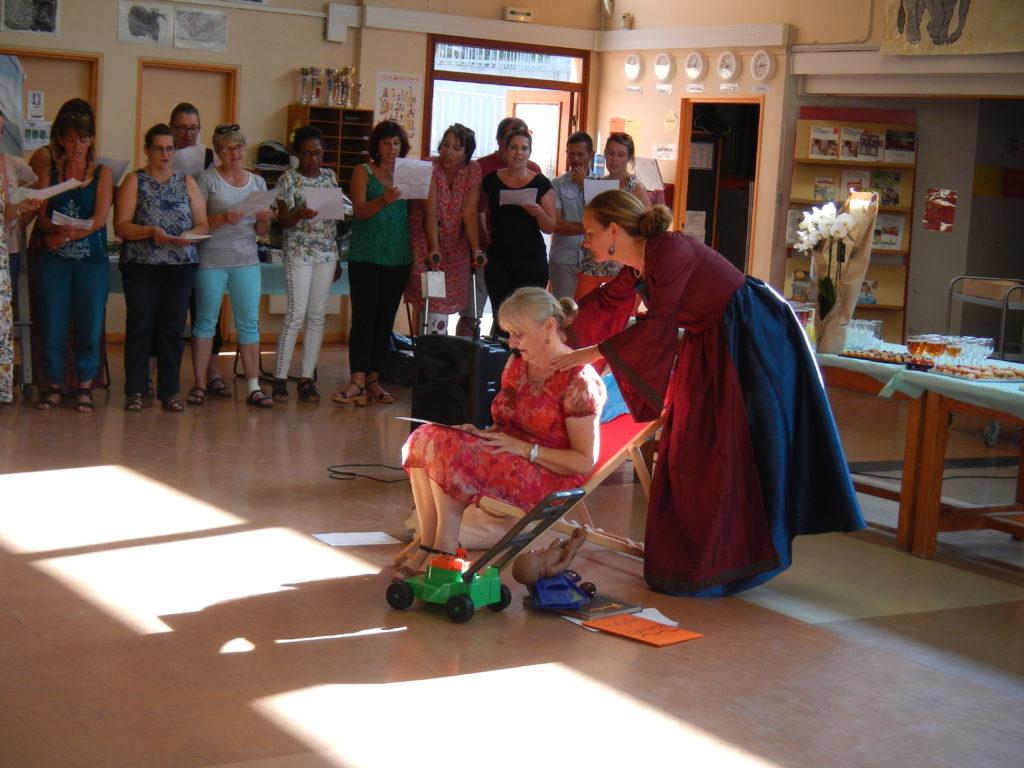 De jolies surprises attendaient la nouvelle retraitée
