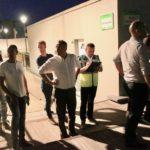 Le maire a sillonné le coeur de ville avec élus et agents municipaux cette nuit