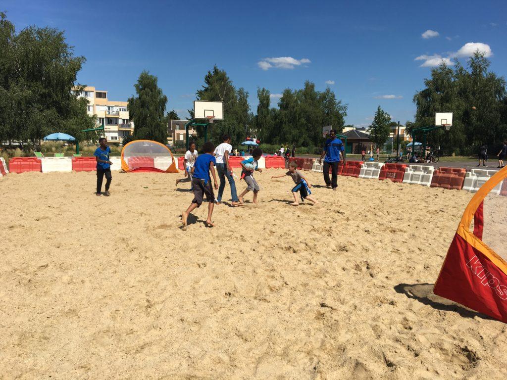 Val-de-Reuil côté Plage pose sa serviette au jardin sportif du 3 au 12 juillet