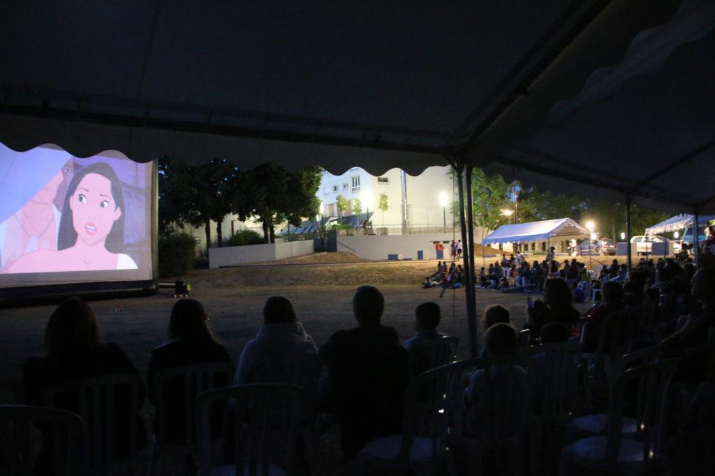 33 films en plein air à la nuit tombée