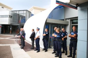 Inauguration du poste de police municipale le 13 Juillet 2018