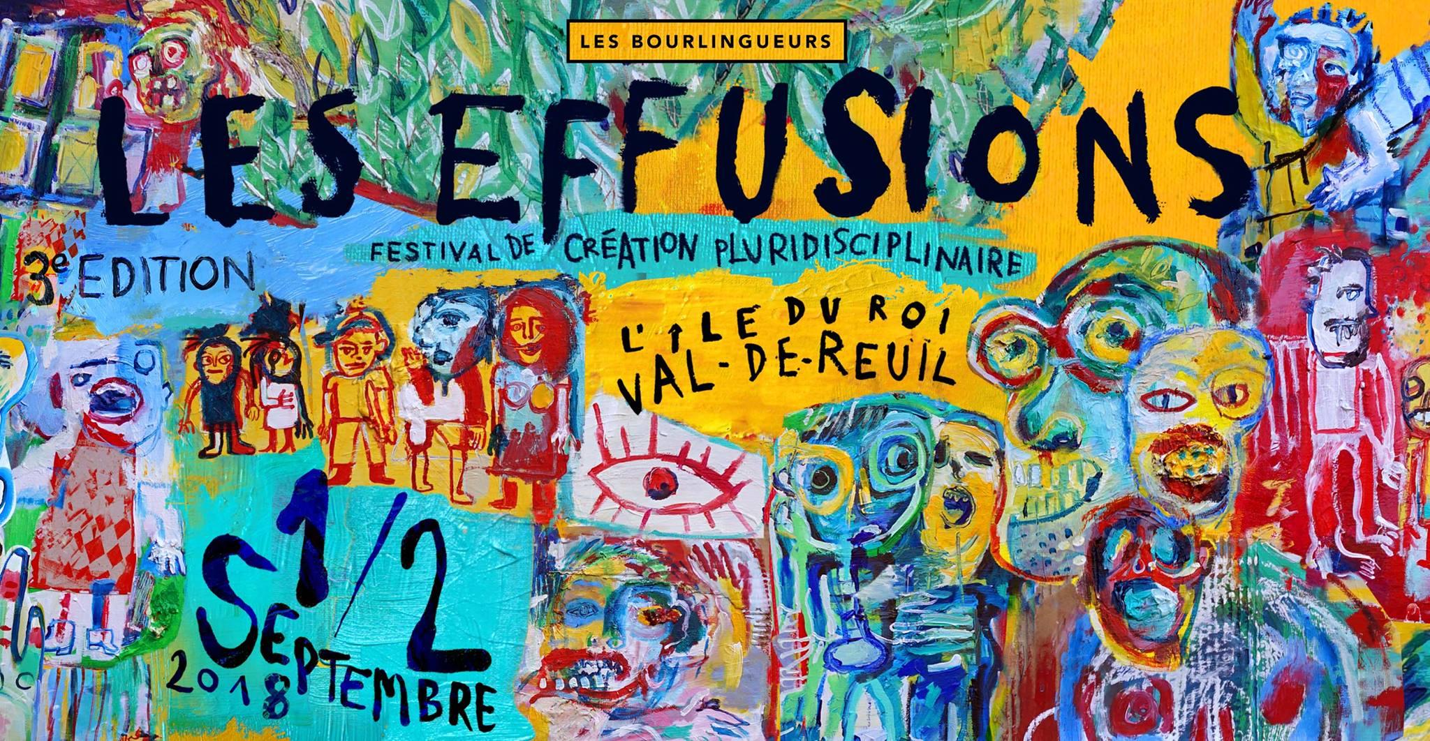 """""""Les Effusions"""" 3ème édition : c'est ce week-end !"""