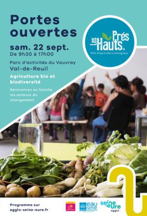 Pôle d'agriculture bio des Hauts-Prés :  journée  portes ouvertes