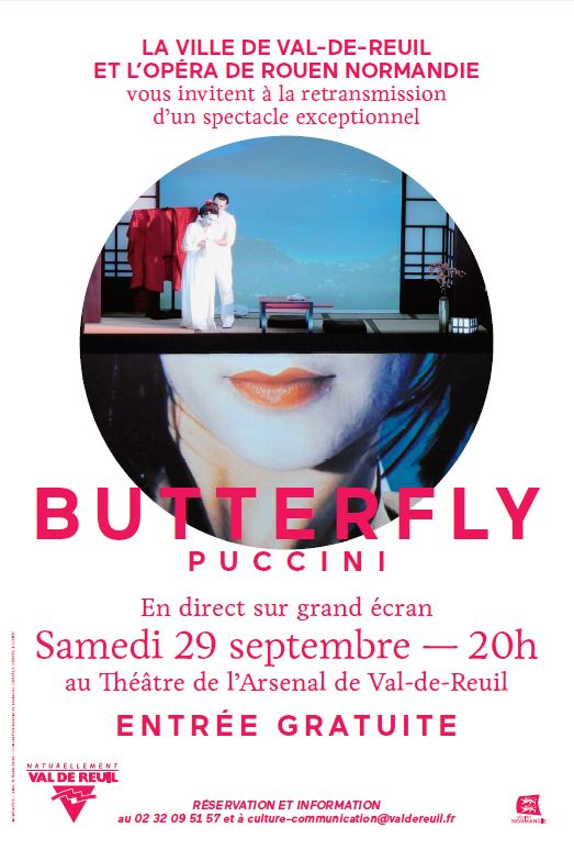 """Opéra – Retransmission en direct de """"Butterfly"""""""
