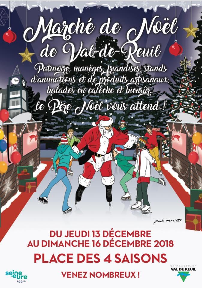 """Marché de Noël """"Nordique et blanc"""""""
