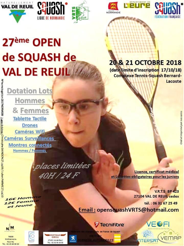 27ème Open de squash