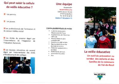Plaquette du Pôle Socio-éducatif 0918
