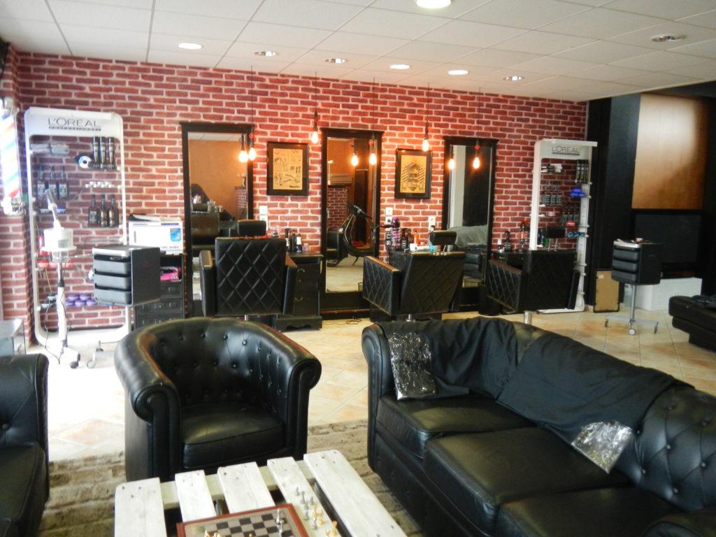 The Barber Club déco