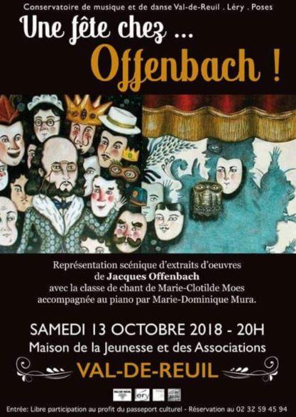 """Concert : """"Une fête chez Offenbach"""""""