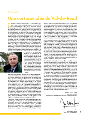 Une certaine idée de Val-de-Reuil – éditorial de Val de Reuil_Infos n°9 – Septembre 2018