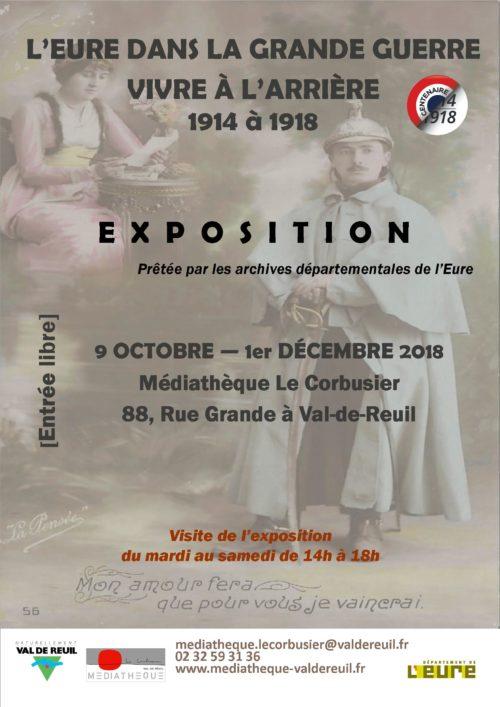 Exposition : l'Eure dans la guerre 14-18