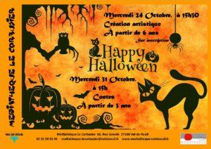 "Atelier création artistique ""Happy Halloween"""