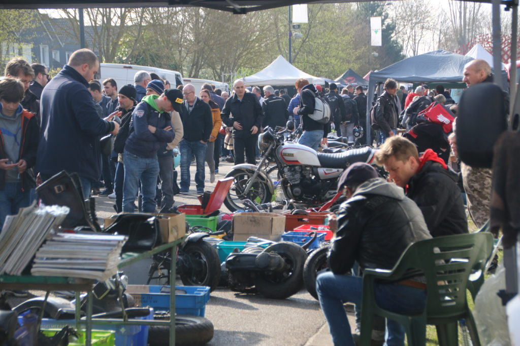 Les 54e puces motos s'installent dimanche à Val-de-Reuil