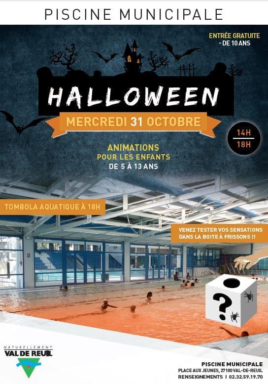 Halloween à la Piscine de Val-de-Reuil