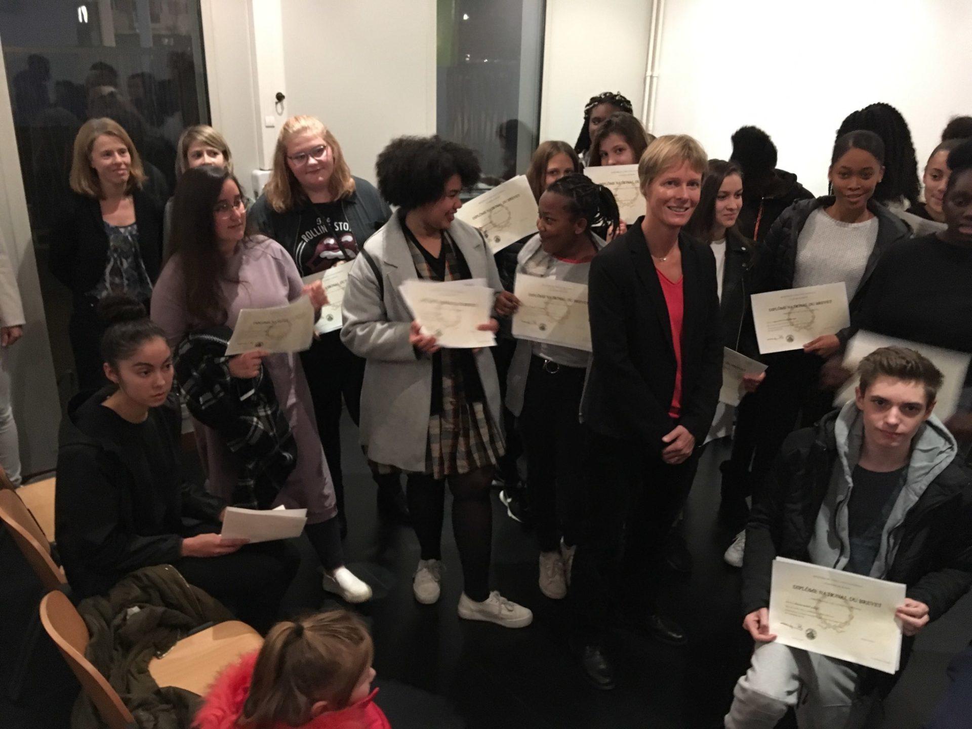 Brevet et Baccalauréat : félicitations à la promotion 2018 !