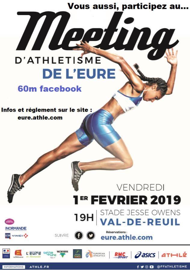 3ème Meeting d'athlétisme Elite de l'Eure