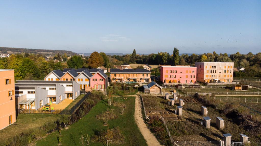 """L'écoquartier a remporté l'Equerre d'argent """"catégorie aménagement urbain et paysager"""""""