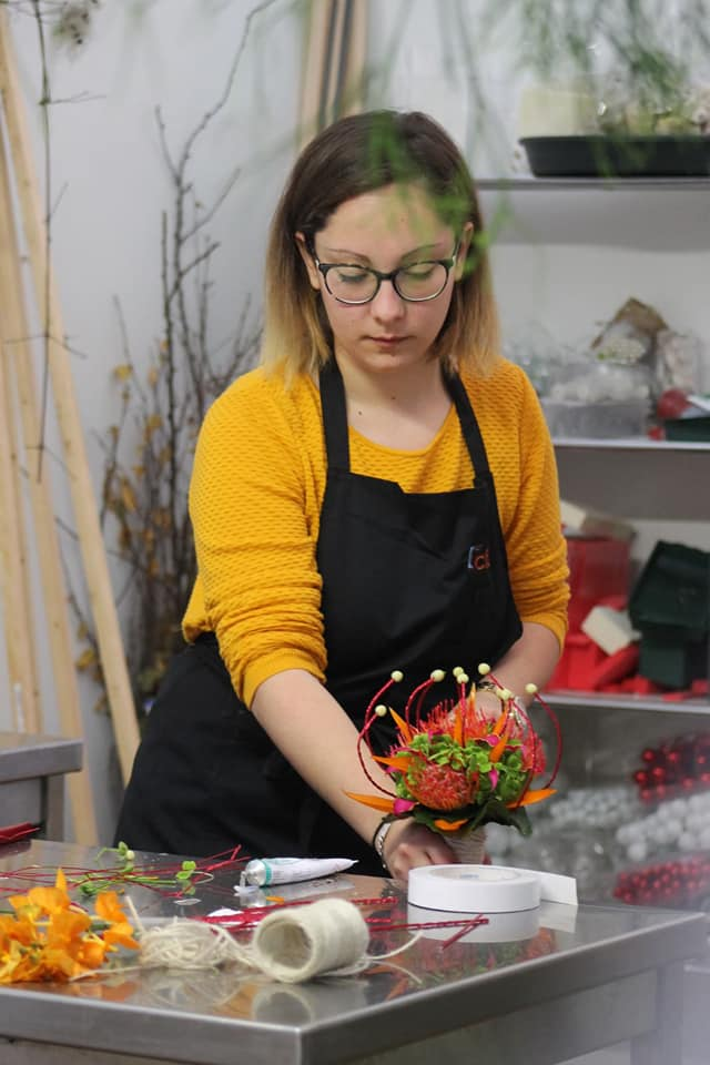 Marion Jouen ou le talent pour l'art floral