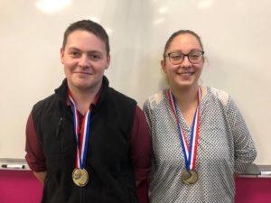 Marion et Armand ont tous deux décroché une médaille d'excellence aux olympiades des métiers