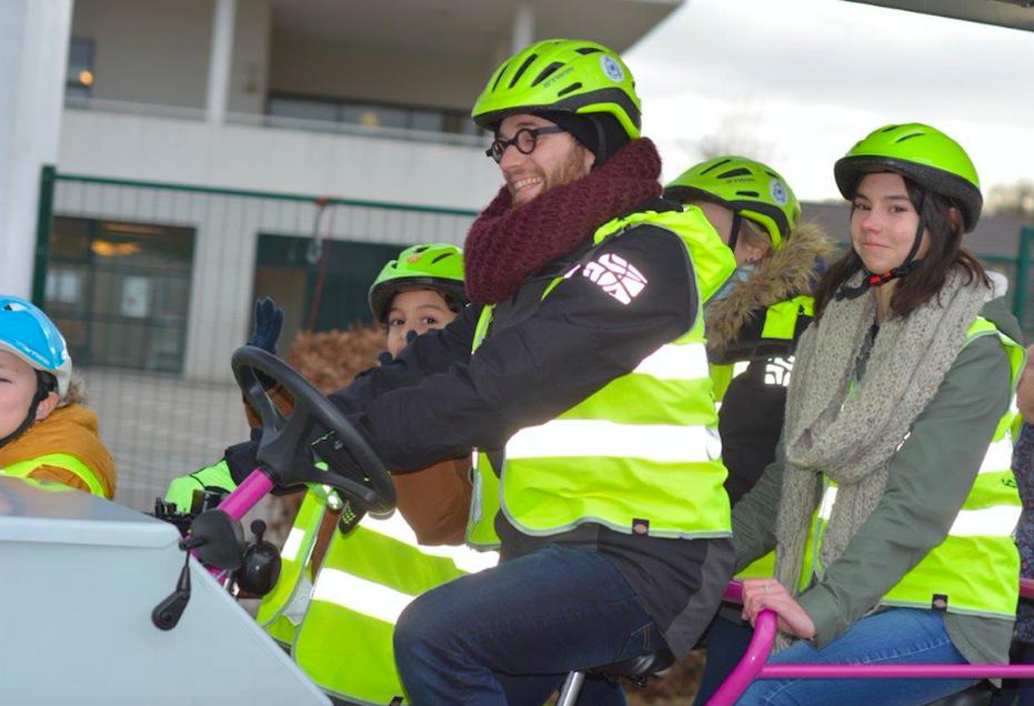 Suzon, 14 ans, a testé le vélo-bus et nous livre ses impressions