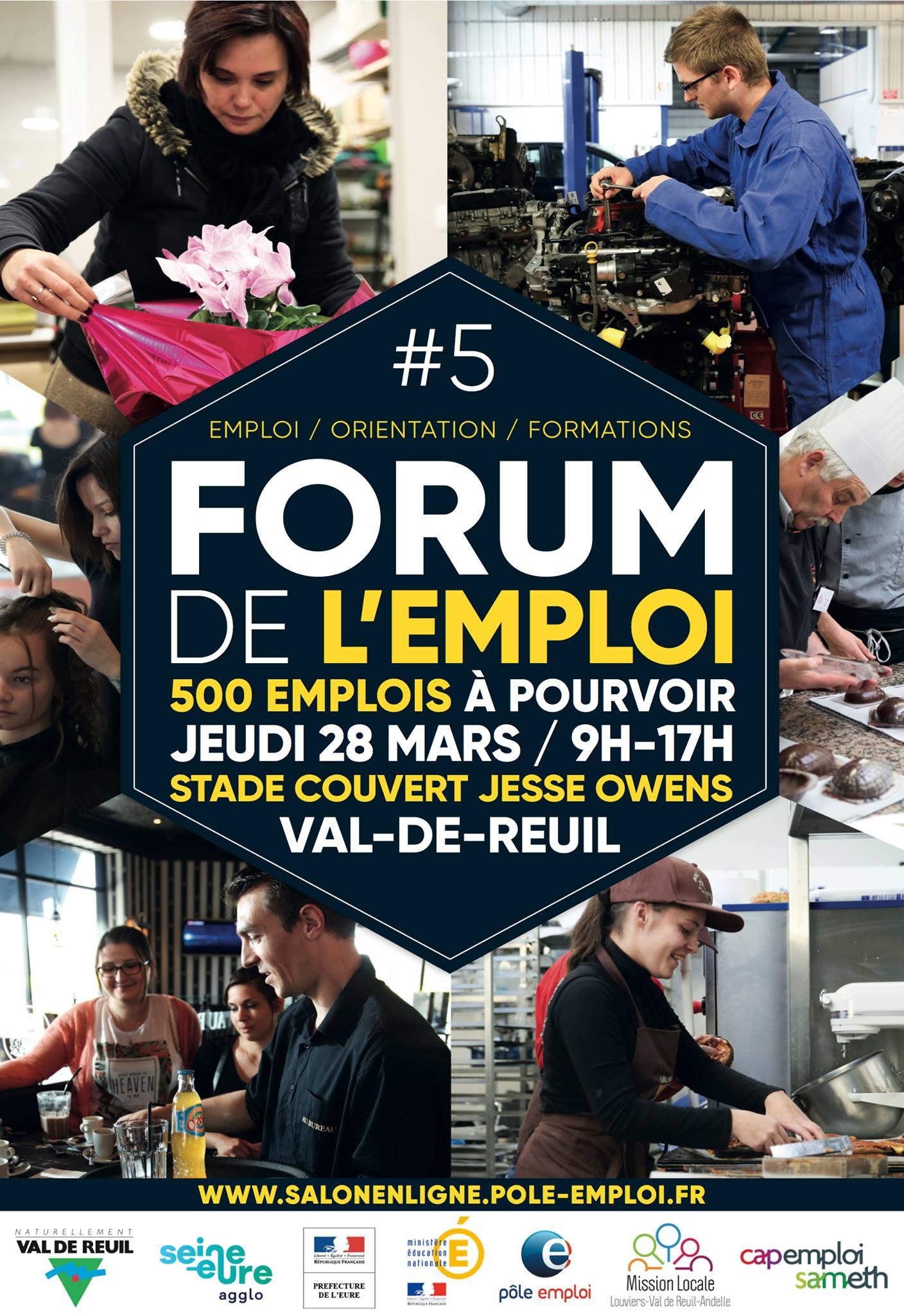 5ème Forum de l'Emploi, des Métiers et de l'Orientation Professionnelle