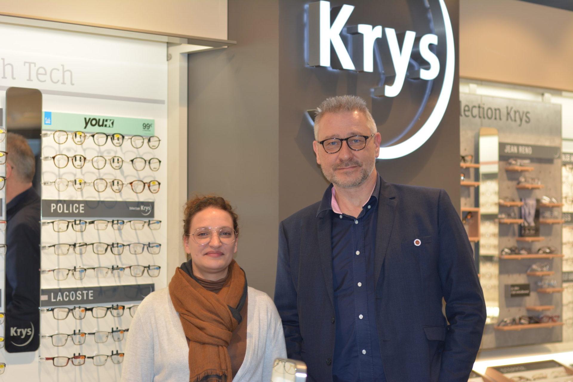 Compétences et choix chez Krys, route des Falaises