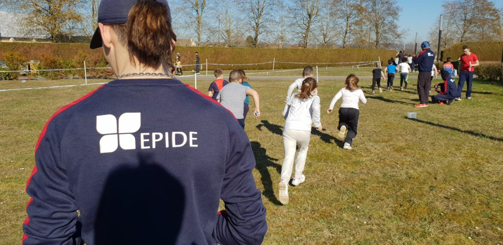 Les jeunes de l'Epide mobilisés pour encadrer les petits