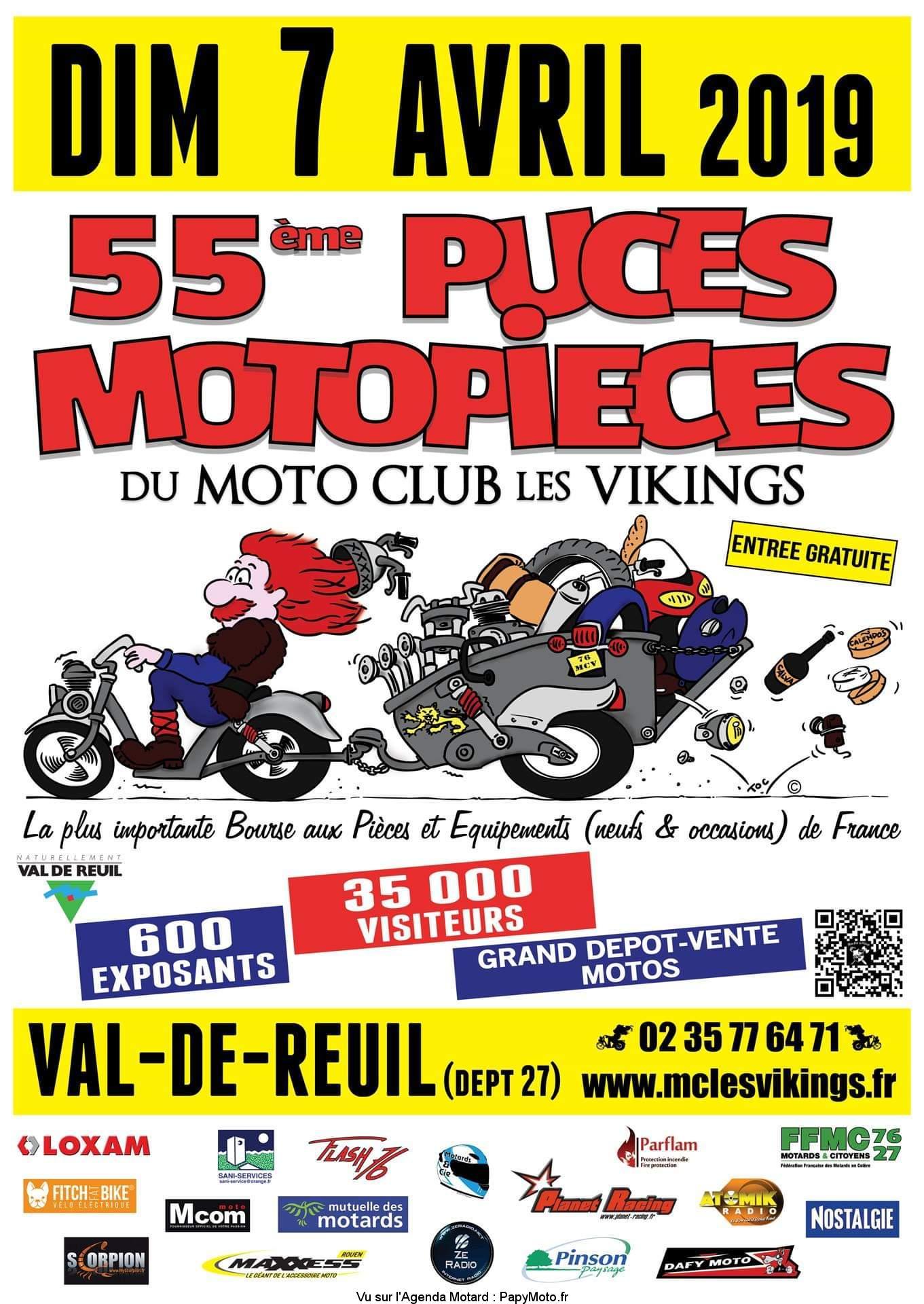55ème Puces Moto