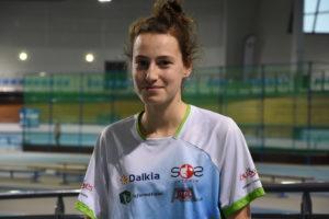Adele Gay se prépare au championnat de France de Cross