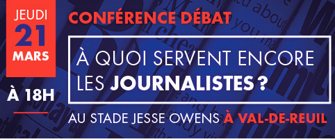 «À quoi servent encore les journalistes ?» : le débat est ouvert le 21 mars