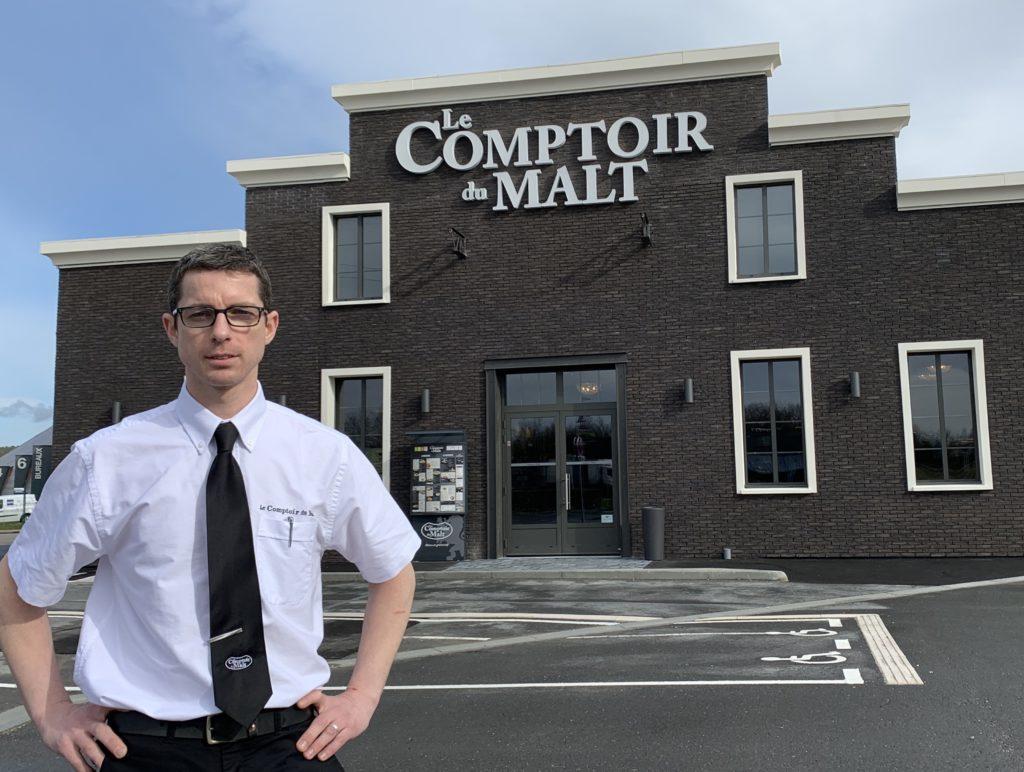 Steve Hennequin a pris les rênes du nouveau restaurant, face au Bureau