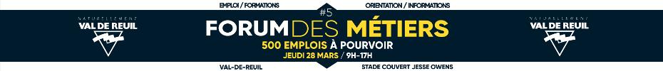 Forum des Métiers du 28 Mars 2019
