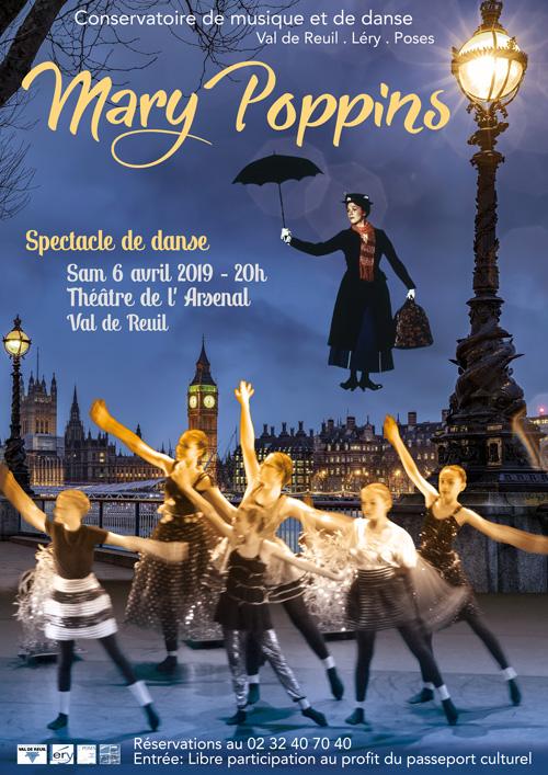 Culture – Spectacle de danse «Mary Poppins»
