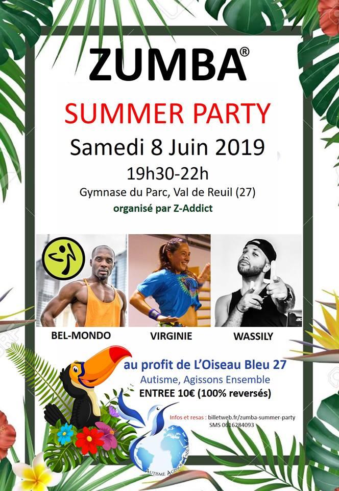 Zumba summer party