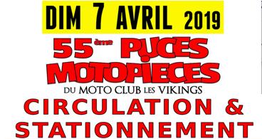 7 avril : comment circuler pendant les puces motos ?