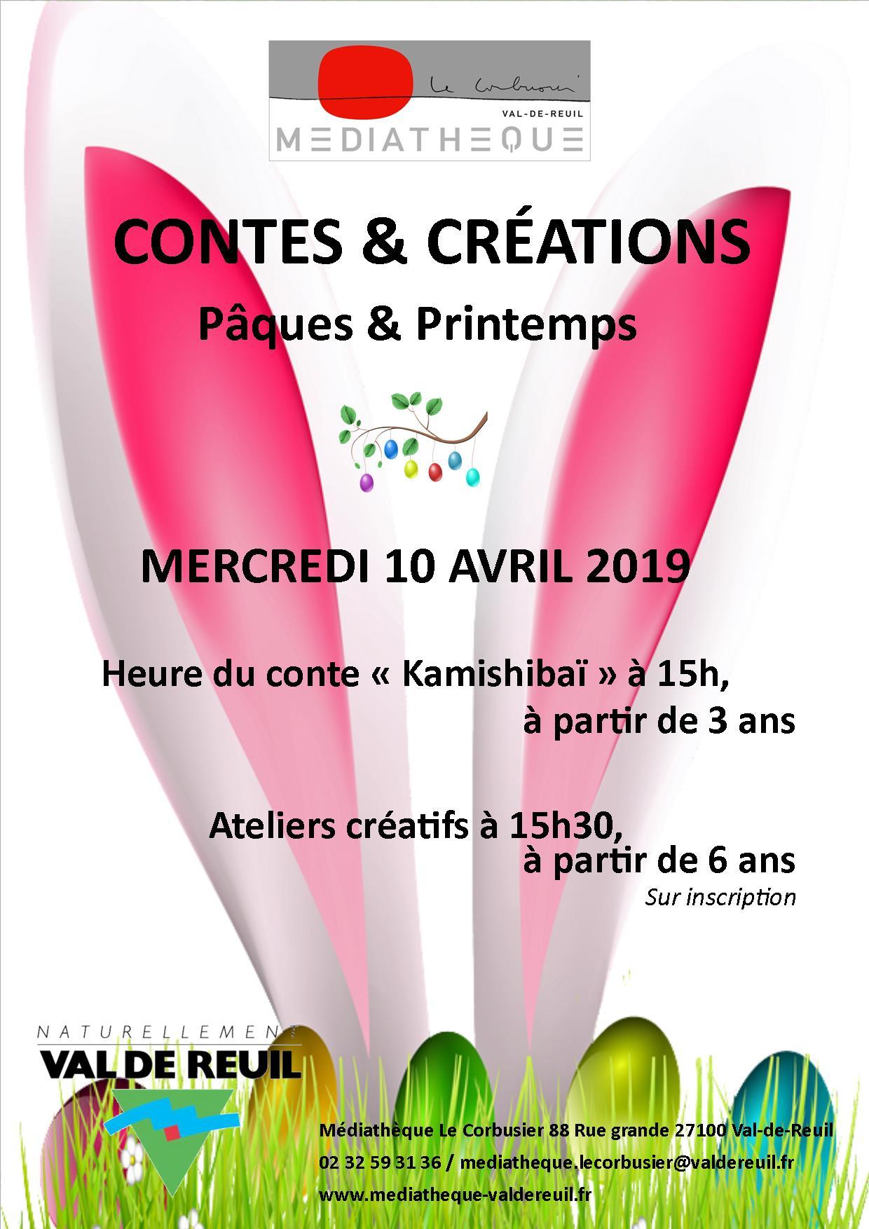 Contes de Pâques et de Printemps et atelier créatif