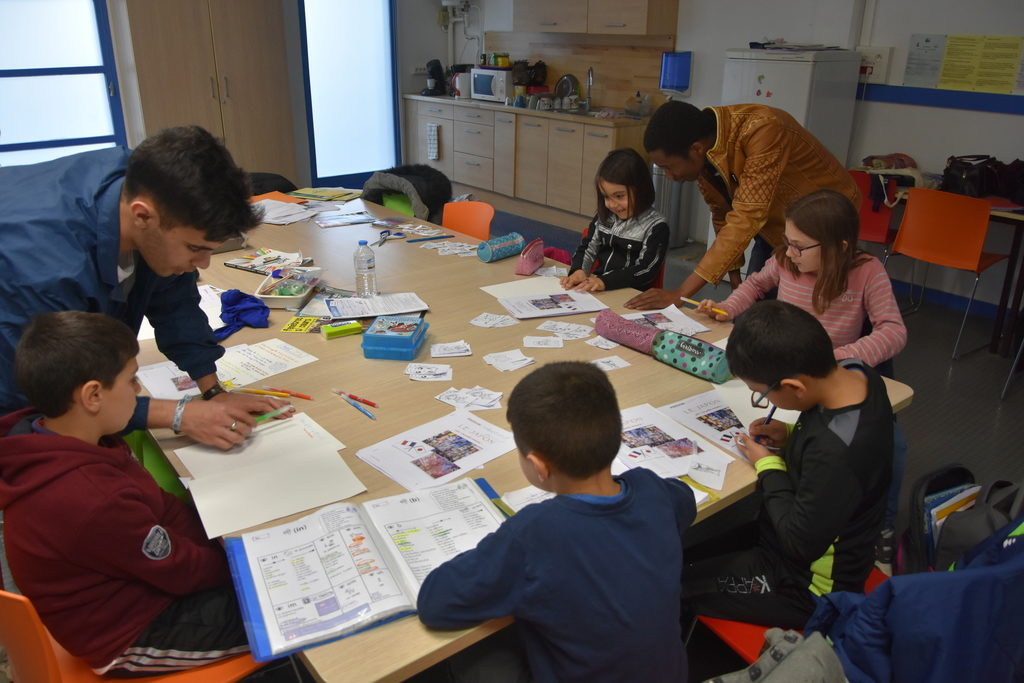 Les enfants du CLAS ont écrit une lettre à des enfants japonais