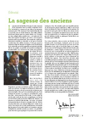 Val de Reuil_Infos N°12 Avril – Mai – Juin 2019 – éditorial