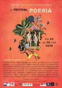 Le festival poésia revient du 23 au 26 mai 2019